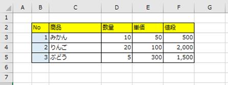 Excel(簡易印刷 画面上の表示)