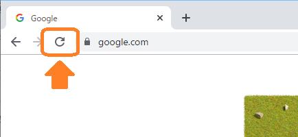 Chrome(リロードボタン)