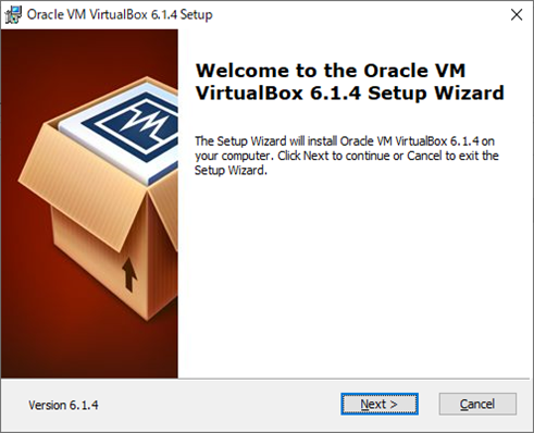 VirtualBox(インストール画面1)