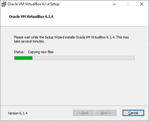 VirtualBox(インストール画面6)
