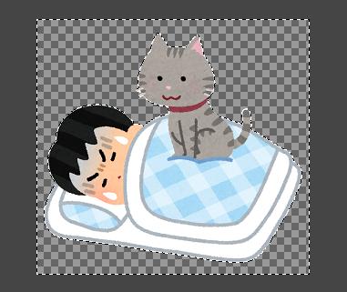 GIMP(透過状態)